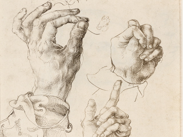 2.-Courtauld-Dürer-Three-studies-1